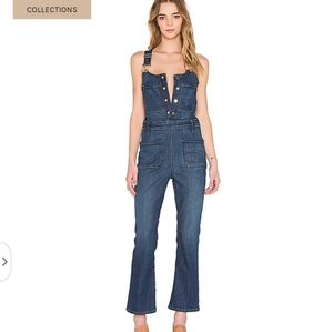 Frame Le High overalls, small